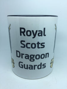 Royal Scots Dragoon Guards Travel/Coffee Mug