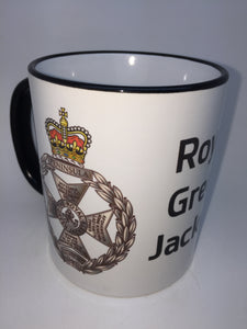The Royal Green Jackets Travel/Coffee mugs