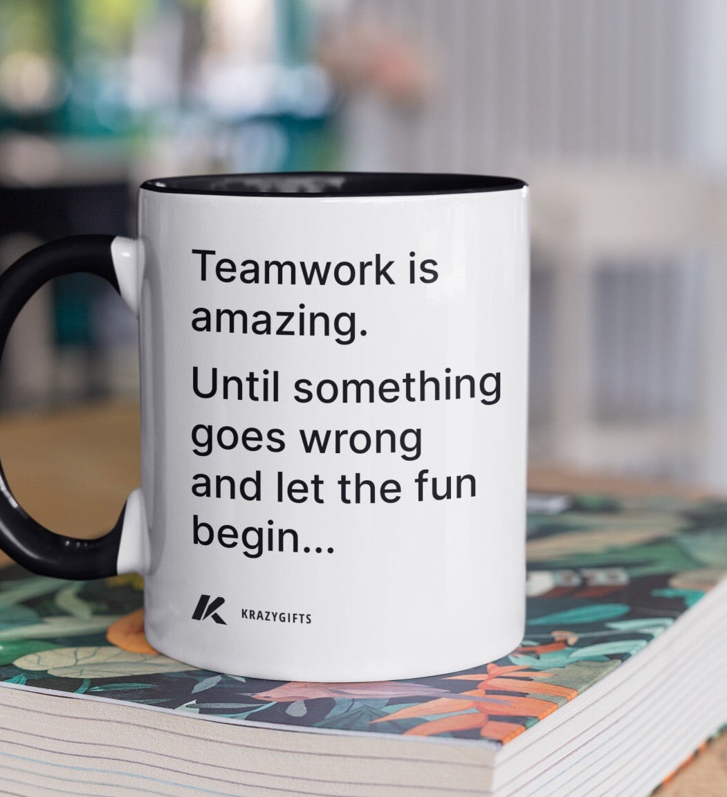 Teamwork-Coffee Mug