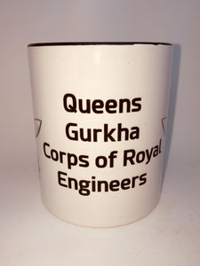 Queens Gurkha Corps of Royal Engineers Coffee/Travel Mug