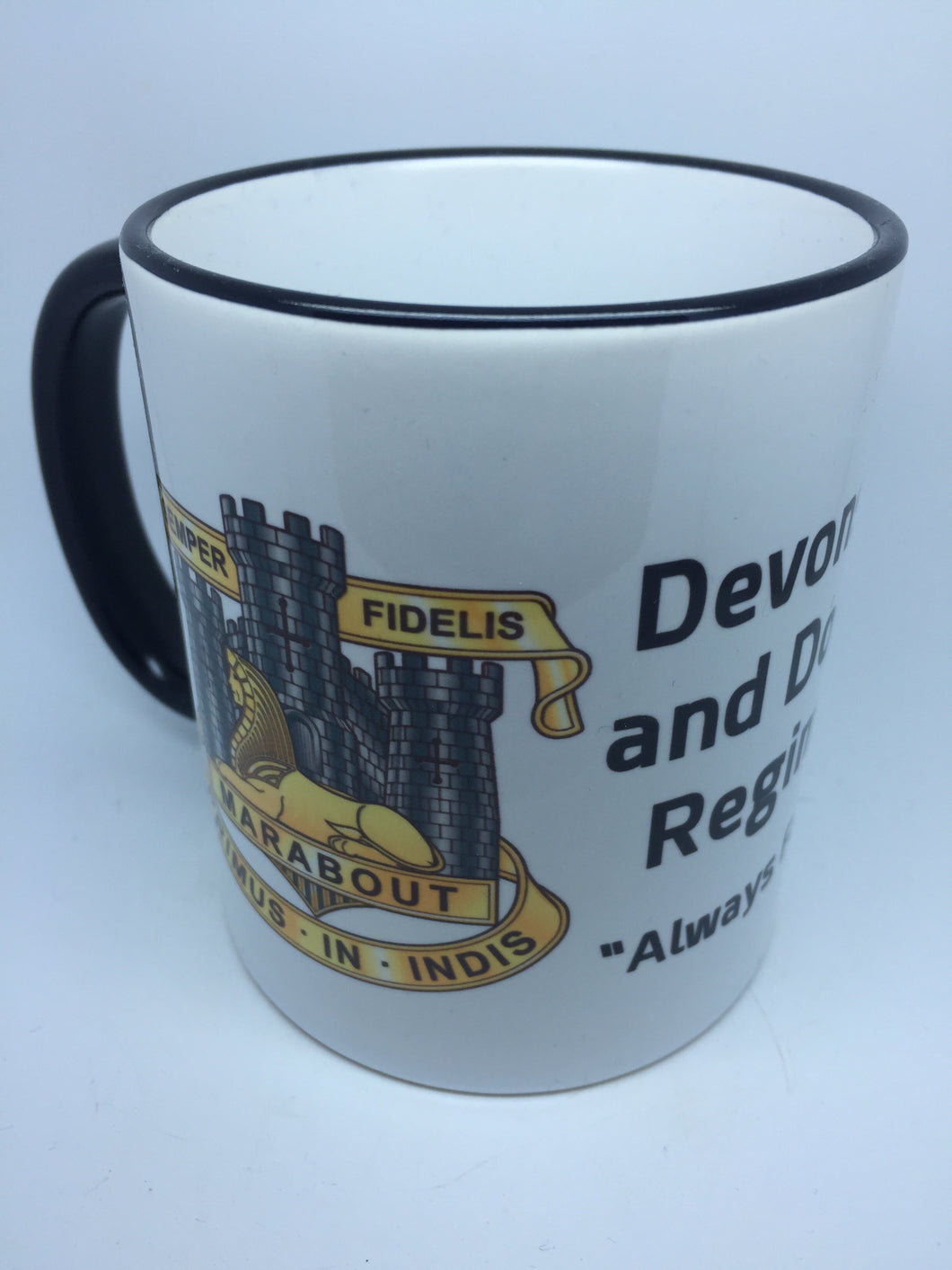 Devonshire and Dorset Regiment Coffee/Travel Mug