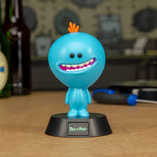 Rick and Morty-Mr Meeseeks Icon Light