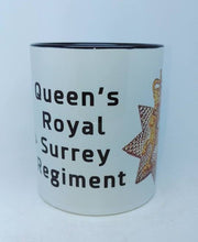 Queen's Royal Surrey Regiment Travel/Coffee Mug - Krazy Gifts