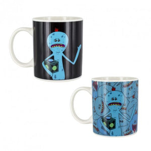 Mr Meeseeks Heat Change Mug