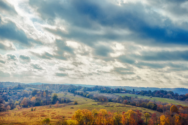 "Tennessee ""Baker Bluff Overlook in Natchez Trace"""