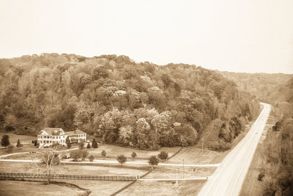 "Tennessee ""View from The Natchez Trace Bridge"""