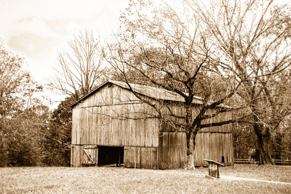 "Tennessee ""Americana Barn on The Natchez Trace"""