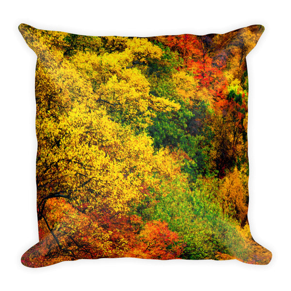 """Autumn Hues"" Decorative Pillow"