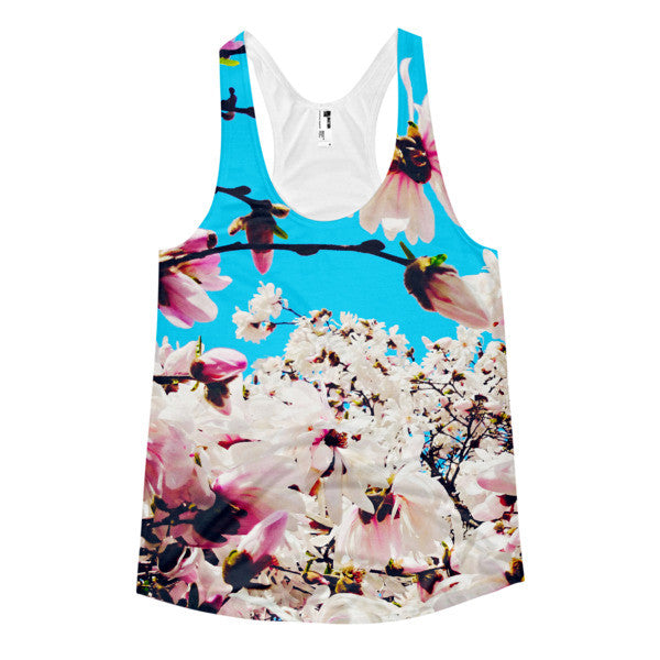 """Let All Things Bloom"" Tank Top (Women)"