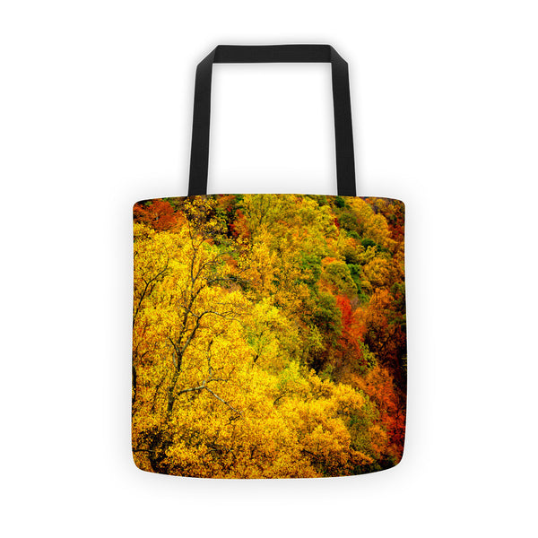 """Autumn Quilt"" Tote Bag"