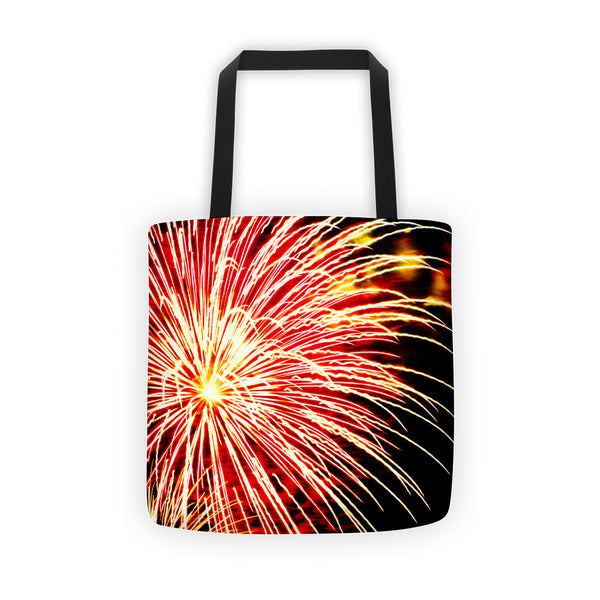 Bursting in Air Fireworks Tote