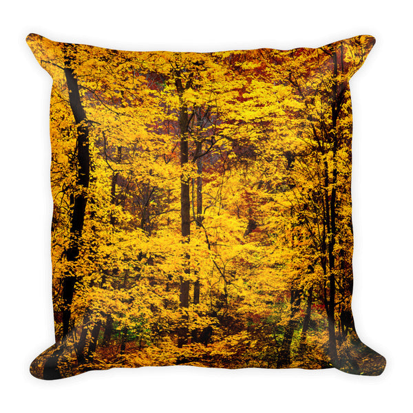 """Gold Treasures"" Decorative Pillow"