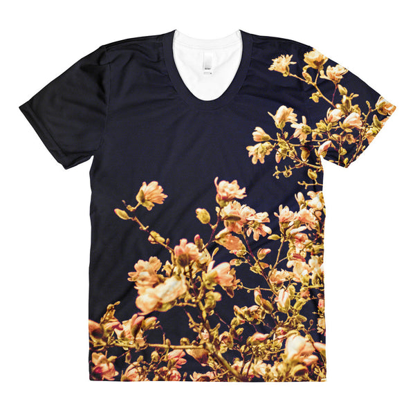 "NEW ""Evening Blossoms III"" Tee (Women)"