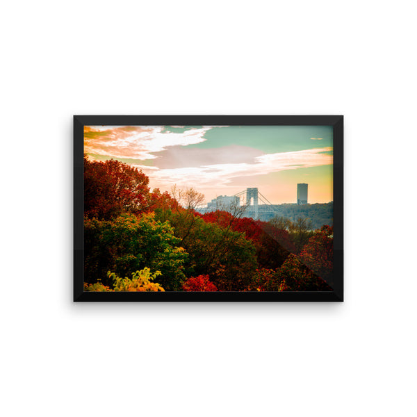 """Autumn View"" Fine Art Framed Print"