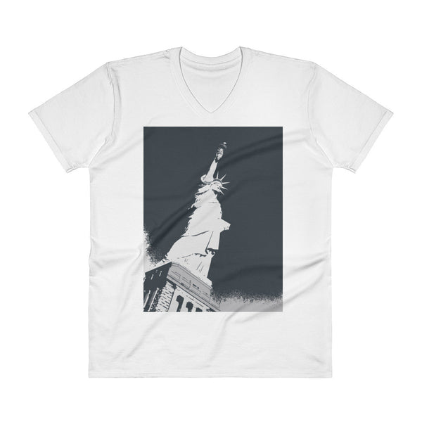 Statue of Liberty Tee (Unisex V-Neck)
