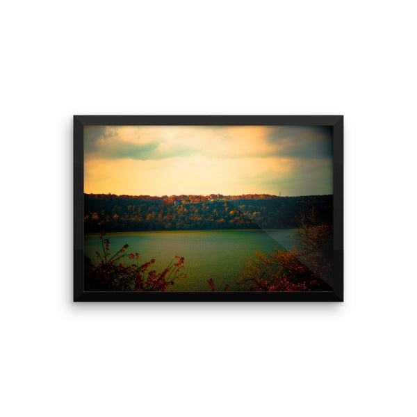 """Evening Falls"" Fine Art Framed Print"