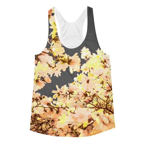 "NEW ""Vintage Blossoms"" Racerback Tank (Women)"