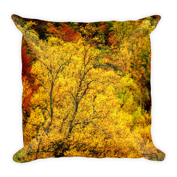 """Autumn Quilt"" Decorative Pillow"