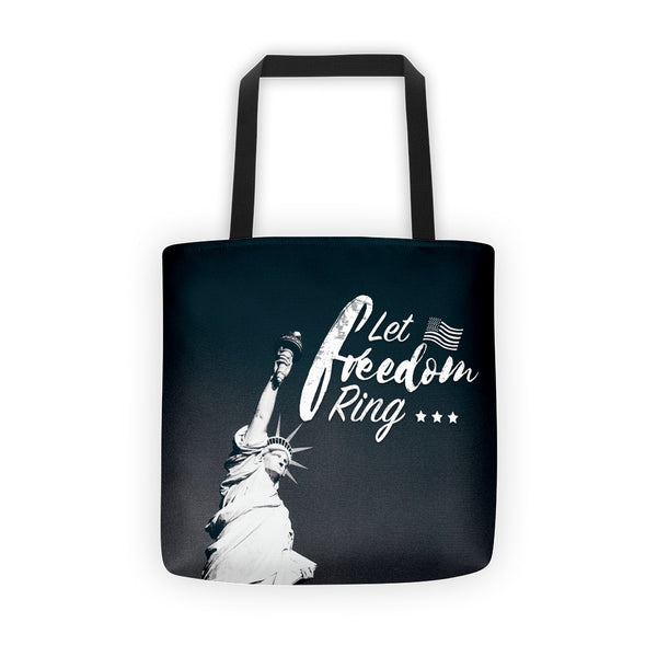 Let Freedom Ring with Statue of Liberty Tote