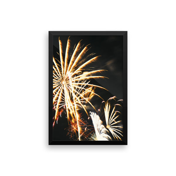 Flowering Flame Framed Photograph