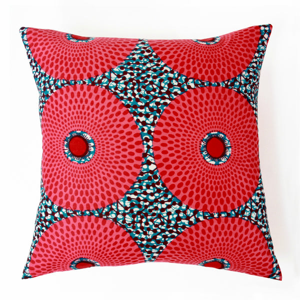 African print Accent Pillows - Soleil