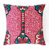 African Print Pillows - Rose