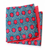 African Print Table Runner - Pois Rouge