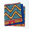 African Print Table Runner - ZigZag