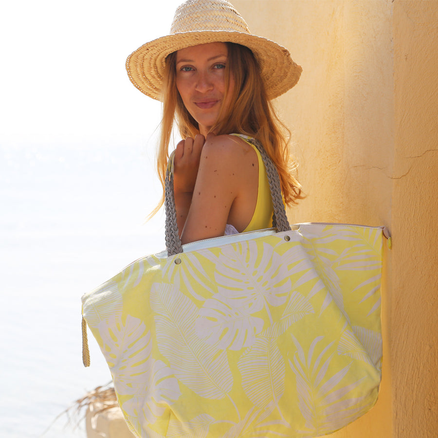 PlayaPlaya Beach Bag - L'Imprimé Tropical