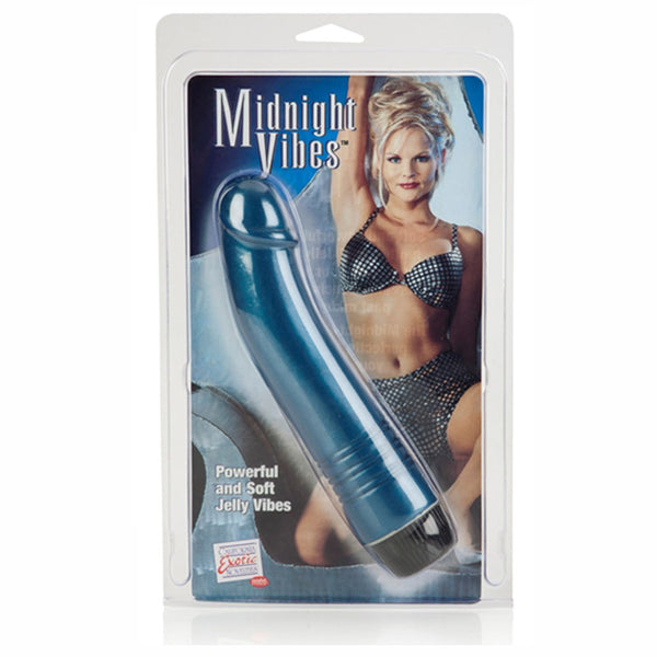 California Exotic Midnight G Spot Vibrator - 6.75""