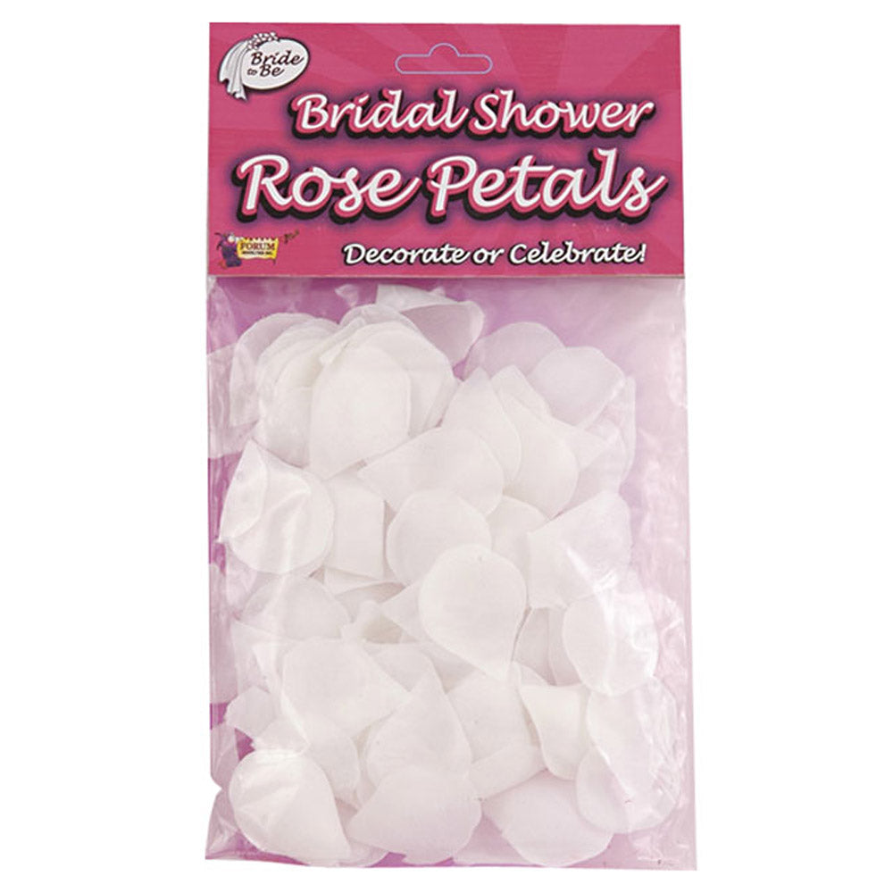 Bridal Shower Rose Petals (White)
