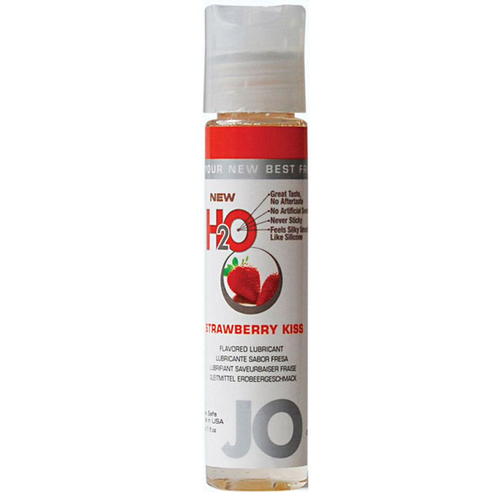 JO H2O Strawberry Kiss 1 Oz Lubricant