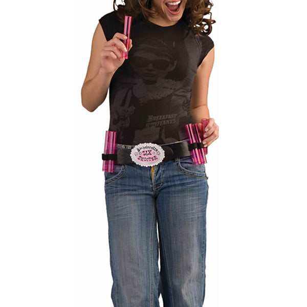 Bachelorette Shot Belt with 6 Shot Glasses