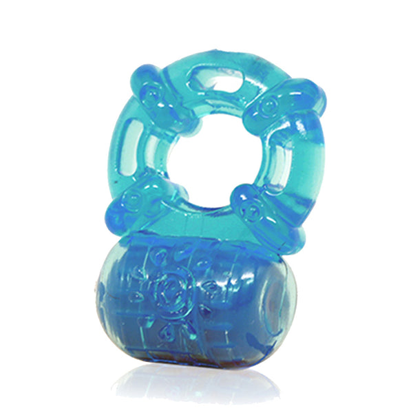 Vibrating Cockring Blue 5 Function