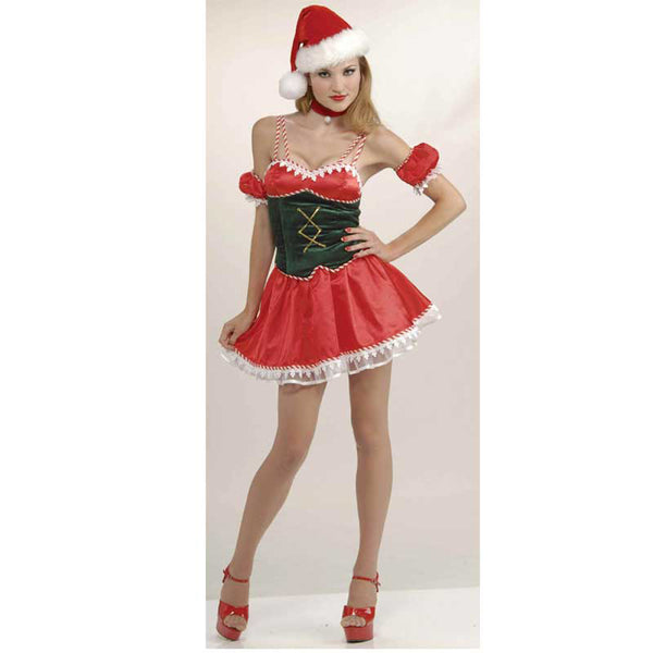Costume Santas Little Ho Ho Ho XS/S