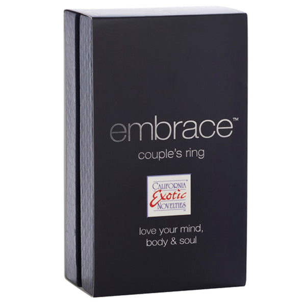 California Exotic embrace couple's ring - Grey