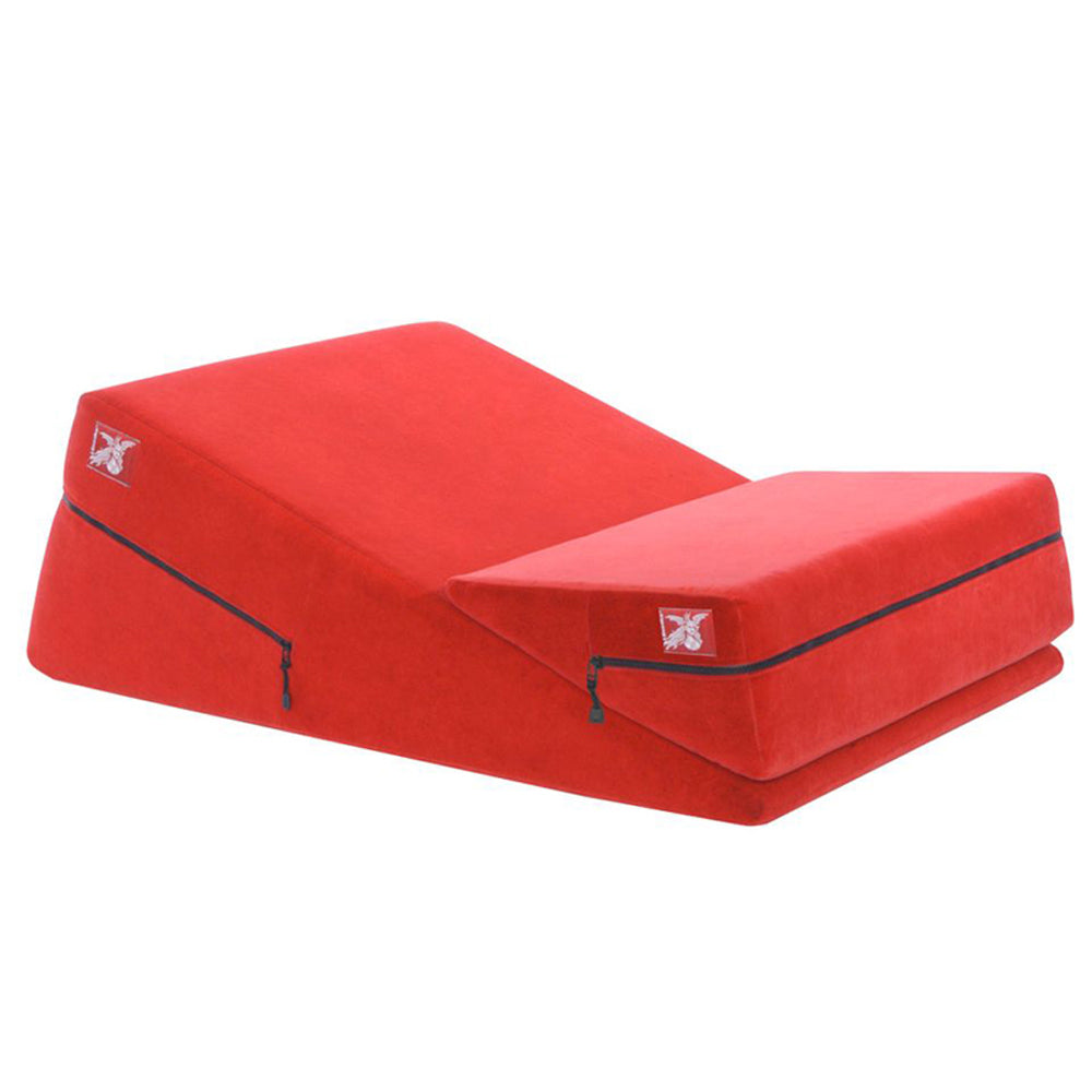 Liberator Wedge and Ramp Combo Sex Position Pillow Red