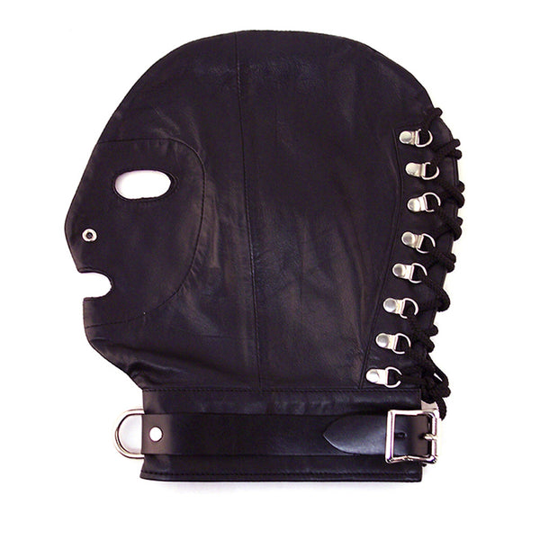 Rouge Mask with D-Ring& Lockable Buckle Black