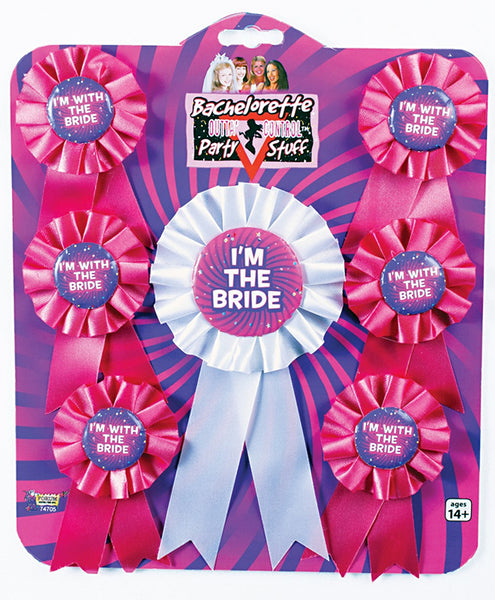 Bachelorette Award Ribbons (Set of 7)