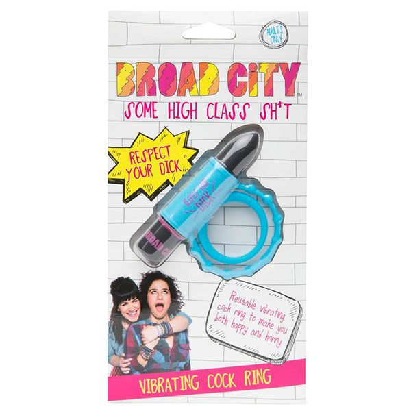 Broad City Respect Your Dick Love Ring - 10 Functions