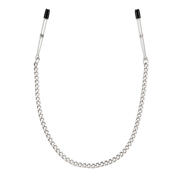 Adjustable Tweezer Nipple Clips With Chain