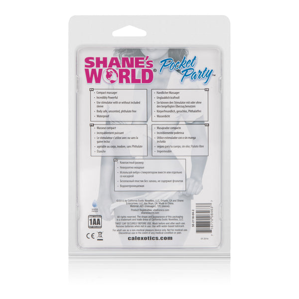 Shanes World Pocket Party - Pink