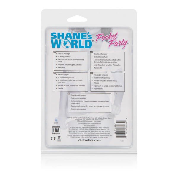 Shanes World Pocket Party - Blue