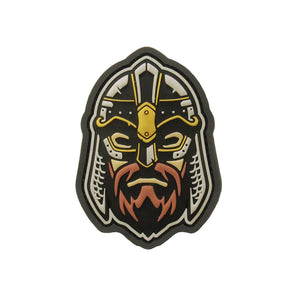 PATCH-00254-FULLCOLOR PARCHE VIKING WARRIOR HEAD