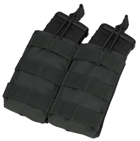 MA19 DOUBLE M4/M16 OPEN TOP MAG POUCH MARCA CONDOR