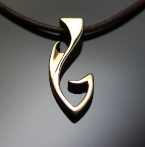 Bronze Fish Hook Jewelry