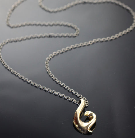 Fishing Hook Necklace