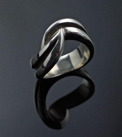 Double Wave Ring-R1034