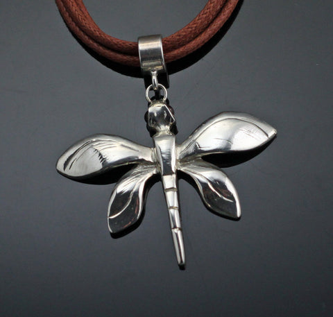 Sm Dragonfly Pendant-W1020