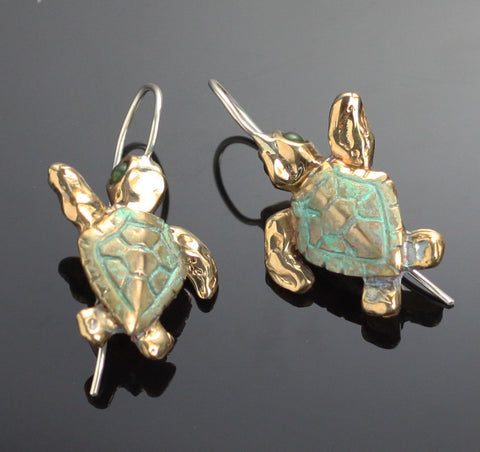 Bronze Loggerhead Earrings – BRE1013